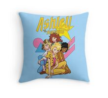 Ashley and the Starlights Throw Pillow