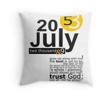 53 Throw Pillow