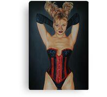 Black Gloves Canvas Print