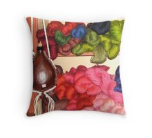 Colonial Yarn Throw Pillow