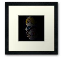 Zelda - Shadow Warrior Sheik Framed Print