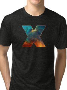 X, Space, Universe, Galaxy, Cosmos Tri-blend T-Shirt