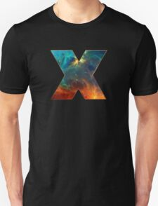 X, Space, Universe, Galaxy, Cosmos T-Shirt