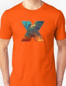 X, Space, Universe, Galaxy, Cosmos T-Shirt