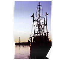 Dockside Trawler Poster