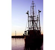 Dockside Trawler Photographic Print