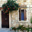 Stone house, Croatia by Dalmatinka
