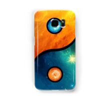 Yin Yang, Space, Cosmos, Galaxy, Universe, Outerspace Samsung Galaxy Case/Skin