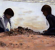 Beach Builders by Peter Worsley