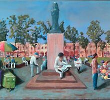 Mexican Plaza by Peter Worsley