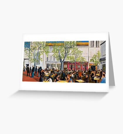 Saturday At Avignon Greeting Card