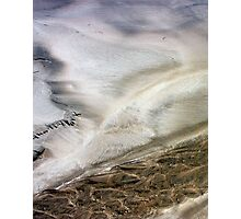 When the Sand turns blue... Photographic Print