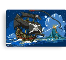 The Pirate's Ship Canvas Print