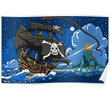 The Pirate's Ship Poster