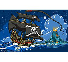 The Pirate's Ship Photographic Print