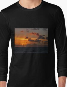 Pacman clouds over the Atlantic sunset T-Shirt