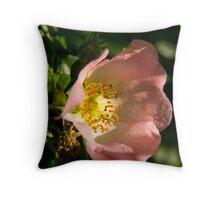 Wild Rose Throw Pillow