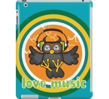 Love music iPad Case/Skin