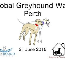 Global Greyhound Walk, Perth by GreyhoundAngels