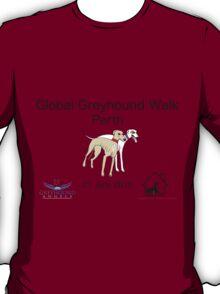 Global Greyhound Walk, Perth T-Shirt