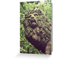 Solid Roar Greeting Card