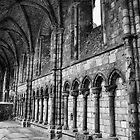 Holyrood Abbey. by Finbarr Reilly