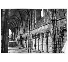 Holyrood Abbey. Poster