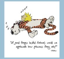 Calvin And Hobbes Quote Kids Clothes