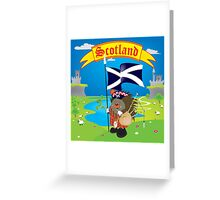 Greetings from Scotland Greeting Card