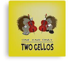 two cellos Canvas Print