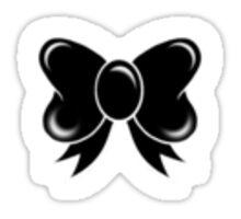 Cute Black Bow Sticker