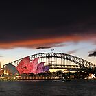 Sydney Opera House Luminous Festival 04 by Barry Culling