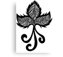 ink batik Canvas Print