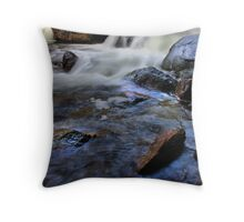 Softly Flowing Throw Pillow