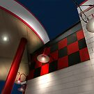 """Checker Board Gas"" by canonman99"