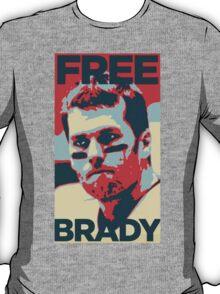 Free Brady Deflate Gate Tom Patriots T-Shirt