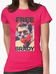 Free Brady Deflate Gate Tom Patriots Womens Fitted T-Shirt