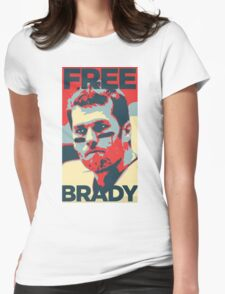 Free Brady Deflate Gate Tom Patriots Womens Fitted T-Shirt