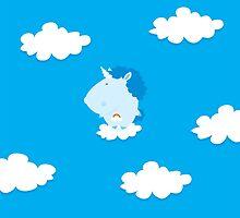 baby unicorn by mangulica