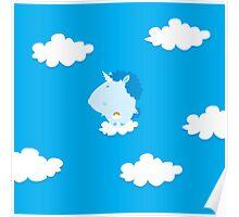 baby unicorn Poster