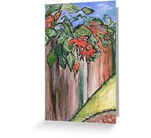 Passion Vine Greeting Card
