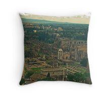 Piazza Venezia View Throw Pillow