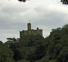 Warkwoth Castle by Waggywag