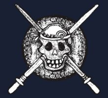 Skull, Pirate, Swords, Crossbones, Captain,  One Piece - Short Sleeve