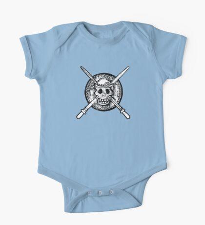 Skull, Pirate, Swords, Crossbones, Captain,  One Piece - Short Sleeve