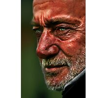 Man at the Zoo Photographic Print