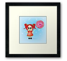 sweet like candy Framed Print