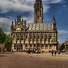 Town hall of Middelburg, Netherlands by PhotoAmbiance
