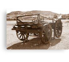 Horse drawn wagon Metal Print