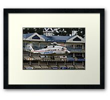 Sikorsky S-92 @ The Wanderers Cricket Stadium Framed Print